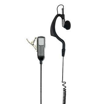 Midland MA21-LK Gancho de orelha Monofónico Com fios Preto, Cinzento auricular para telemóvel