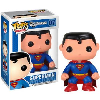 Funko Superman Pop Heroes Vinyl Figure - 7