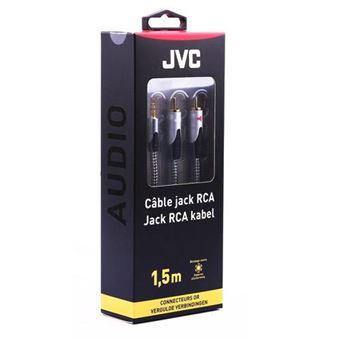 Cabo Áudio Jack 3.5mm - 2RCA JVC 1.5M