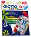 Caixa 12 Marcadores Decorativos Giotto Decor Textile