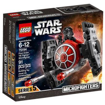 LEGO Star Wars 75194 Microfighter TIE Fighter da Primeira Ordem