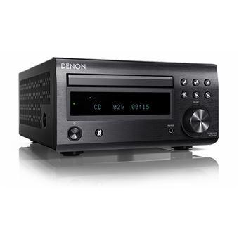 Micro Recetor HiFi Bluetooth Denon RCD-M41 - Preto