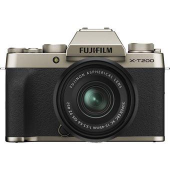 Fujifilm X-T200 + XC 15-45mm f/3.5-5.6 OIS PZ - Champagne Gold