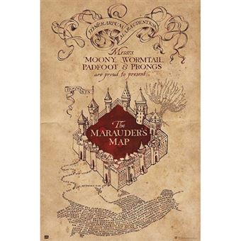 Poster Harry Potter: The Marauders Map