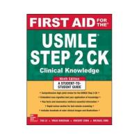 First aid for the usmle step 2 ck,