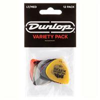 Palhetas Variety Pack Light-Medium PVP 101 Dunlop 12 Unidades
