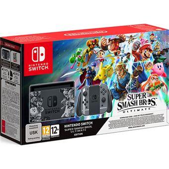Consola Nintendo Switch - Edição Super Smash Bros. Ultimate