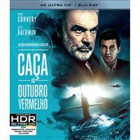 Caça ao Outubro Vermelho - 4K Ultra HD + Blu-ray