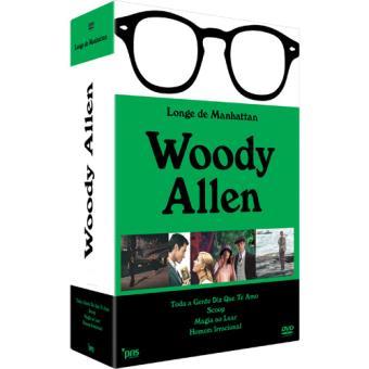 Pack Woody Allen: Longe de Manhattan (4 DVD)
