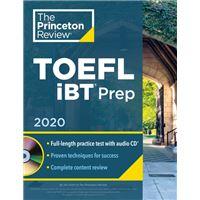 Princeton review toefl ibt prep wit