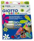 Caixa 12 Marcadores Decorativos Giotto Decor Materials