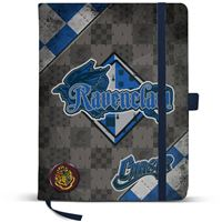 Caderno Liso Harry Potter Quidditch - Ravenclaw A5