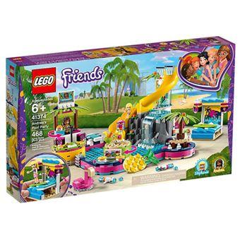LEGO Friends 41374 A Festa na Piscina da Andrea