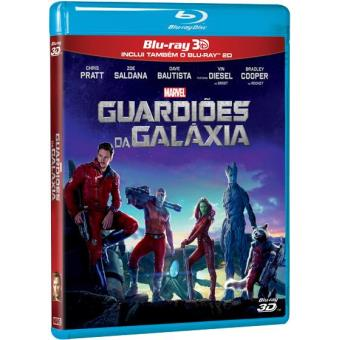 Guardiões da Galáxia (Blu-ray 3D + 2D)