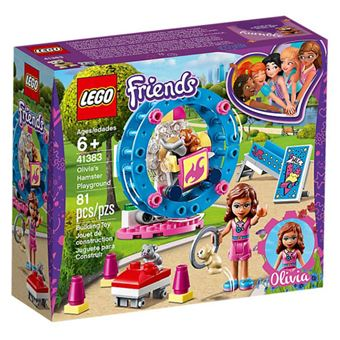 LEGO Friends 41383 O Recreio do Hámster da Olivia