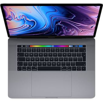 Apple MacBook Pro 15'' Retina i7-2,2GHz | 16GB | 512GB | Radeon Pro 555X com Touch Bar e Touch ID - Cinzento Sideral