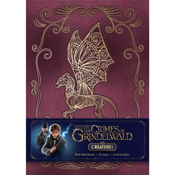 Caderno Liso Fantastic Beasts: The Crimes of Grindelwald - Magical Creatures A5