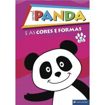 Panda e as Cores e Formas - 4-6 Anos
