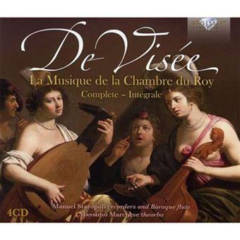 Musique de la Chambre du Roy  - 4CD