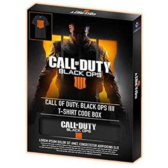 T-Shirt Call of Duty: Black Ops 4 + DLC - L