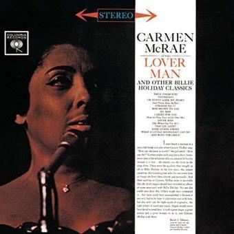 Carmen mcrae sings lover man and ot