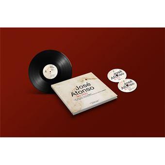 José Afonso ao Vivo - LP + 2CD + Livro