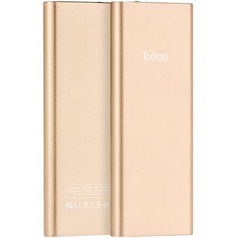 Power Bank Hoco Metal 10000mAh - Dourado