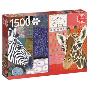 Puzzle Eugen Stross Arte Africano 1500 Peças