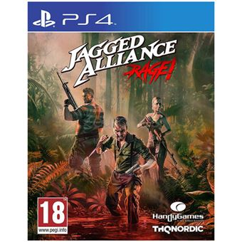 Jagged Alliance: Rage! - PS4