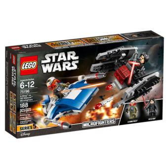 LEGO Star Wars 75196 A-Wing contra TIE Silencer Microfighters