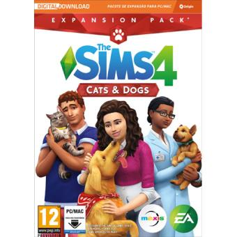The Sims 4 Cats & Dogs Expansão - Code In A Box - PC