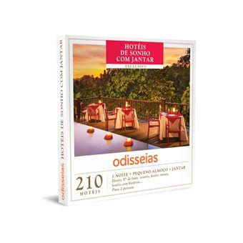 Odisseias 2020 - Hotéis de Sonho com Jantar
