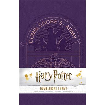Caderno Pautado Harry Potter - Dumbledore's Army A5