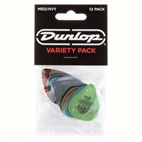Palhetas Variety Pack Medium-Heavy PVP 102 Dunlop 12 Unidades