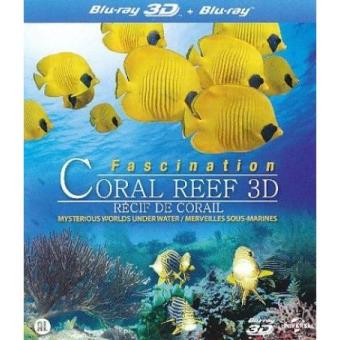 Fascination Coral Reef 3D: Mysterious Worlds Underwater (Blu-ray 3D + 2D)