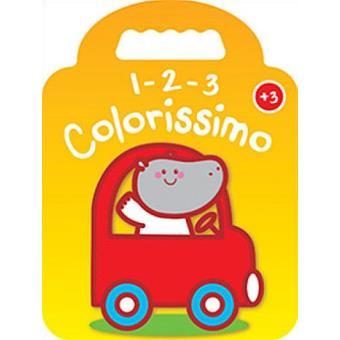1-2-3 Colorissimo - Hipopótamo + 3 Anos