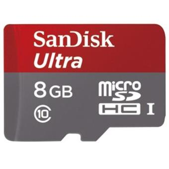 Hama microSDHC Ultra 8GB + SD