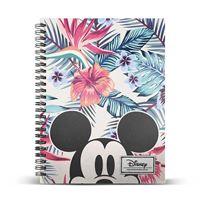 Caderno Quadriculado Espiral Mickey Eden A5