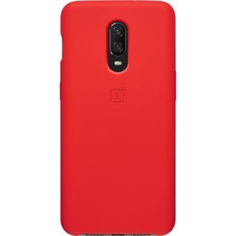 Capa Silicone OnePlus para 6T - Vermelho