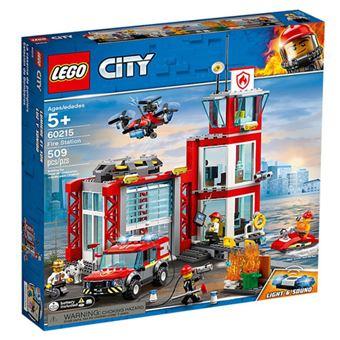 LEGO City Fire 60215 Quartel dos Bombeiros