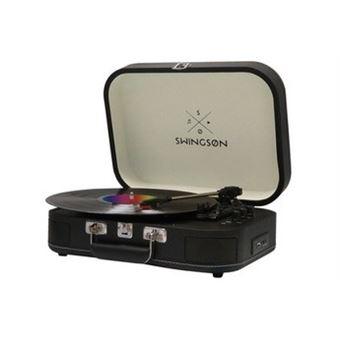 Gira-Discos Swingson ST226 Bluetooth - Preto
