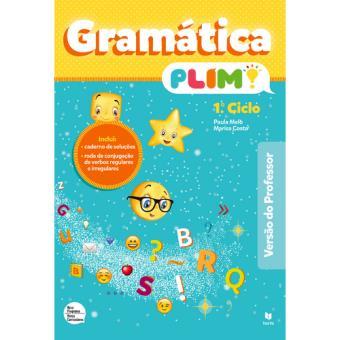 Gramática Plim! 1º Ciclo - Versão do Professor