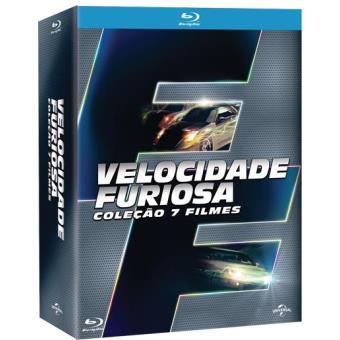 Coleção Velocidade Furiosa (7 Filmes)