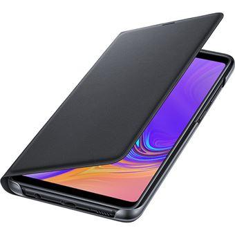 Capa Samsung Flip Wallet para Galaxy A9 - Preto