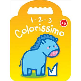 1-2-3 Colorissimo - Cavalo + 3 Anos