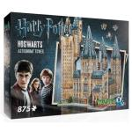 Puzzle 3D Harry Potter Hogwarts Astronomy Tower 875 Peças - Wrebbit