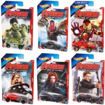 Hot Wheels Veículos Marvel Vingadores(Sortido)