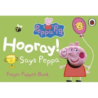 Peppa pig: hooray ! says peppa fing