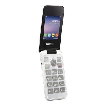 """Alcatel 20.51D 2.4"""" 97g Branco Telefone digital"""