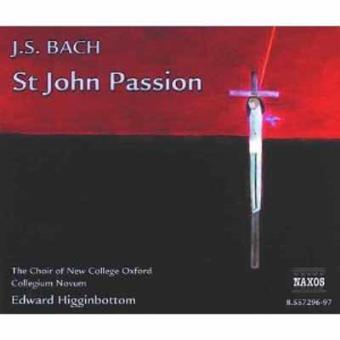 BACH-ST.JOHN PASSION (2CD)